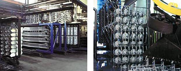 Arens Oberflächenfullservice - KLT lakování